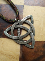 Celtic knot, steel Shapeways print