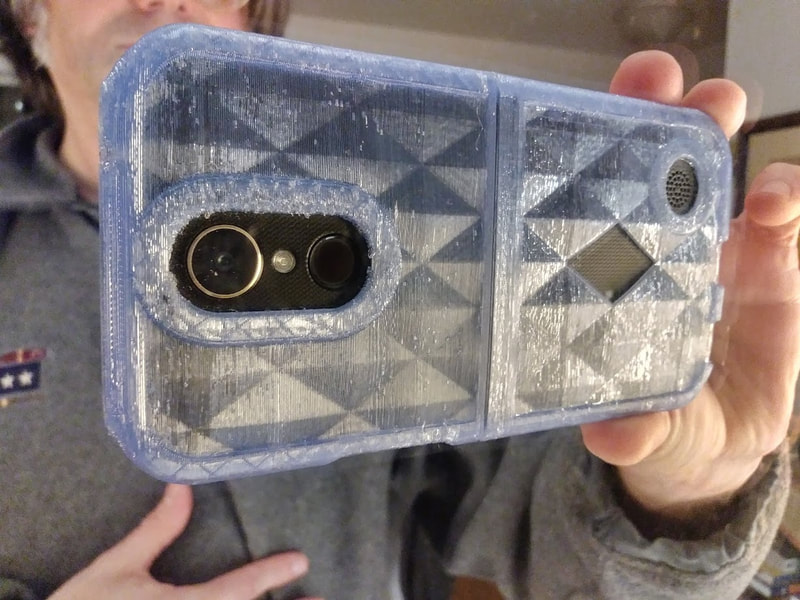 Phone case in recycled PET